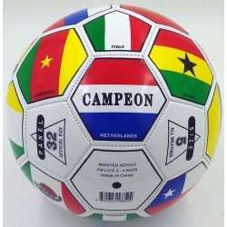 Balon de Futbol Fifa World Cup del No. 5 Fifa World Cup Soccer Ball International Country Flags