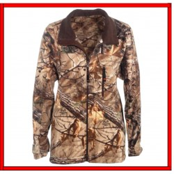 Chamarra Game Winner Men Blue Ridge Micropolar  de Poliester. 100% Color Camo RealTree talla 2XL