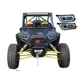 Polaris Faros Led  Bluetooth Colores Rzr 1000 Rgb Atv 14-16